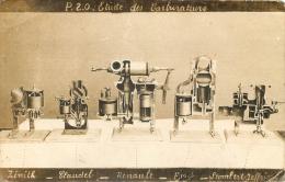 ETUDE DES CARBURATEURS ZENITH CLAUDEL RENAULT FORD  STOMBERT JEFFRIN - Cartes Postales