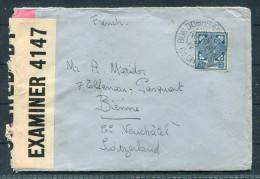 1945 Ireland Eire Censor Cover To Switzerland - 1937-1949 Éire