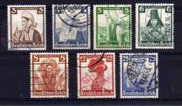 Germany - 1935 - Child Welfare (Part Set) - Used - Oblitérés