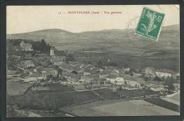 39. MONTFLEUR En 1910. (JURA). VUE GENERALE....C1451 - Autres Communes