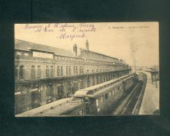 Jeumont (59) - La Gare Intérieure ( Train Chemin De Fer Ed. Couture ) - Jeumont