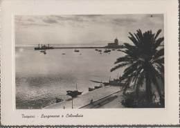 1949 TRAPANI LUNGOMARE E COLOMBAIA FG V SEE 2 SCANS - Trapani