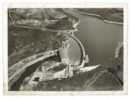 Photo Aérienne Barrage Retenue D'eau Usine Hydroélectrique - Luoghi