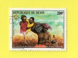 REP. Du  SENEGAL , 40é  ANNIVERSAIRE DU CONSEIL DE L'ENTENTE   ,, **  200 F. **,,, POSTE 1996,,,  TBE - Senegal (1960-...)