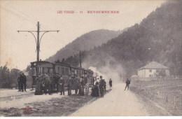88 _ RETOURNEMER - GERARDMER  _ La  Station  Du  Tramway  Por La Schlucht _ - Gerardmer