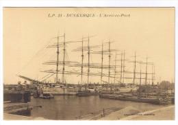 DUNKERQUE  L ARRIERE PORT - Dunkerque