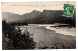 CP, 73, SAINT-GENIX-sur-GUIERS, Jonction Du Rhône Et Du Guiers, Château De La Barre, Voyagé En1923 - France