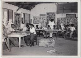 18220g CONGO BELGE - ATELIER D´ART - P. Romain-Desfossés - Photo De Presse - Ethnographique - C. Lamote - 24x18c - Africa