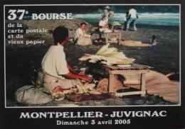 JUVIGNAC - MONTPELLIER - 37ème Bourse De La Carte Postale 2005 -   Vendeuse De Maïs Java - Bourses & Salons De Collections