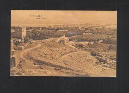 Cartolina Siracusa Teatro Greco 1907 - Siracusa