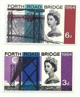 1964 - Gran Bretagna 395/96 Ponte, - Ponti
