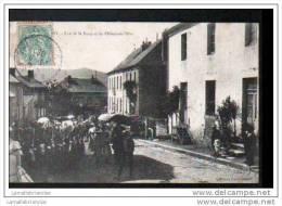 71 - ANOST - RUE DE LA POSTE ET DE L´HOTEL DE VILLE - PROCESSION DE COMMUNION - Francia