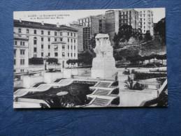 Alger - Le Boulevard Laferrière Et Le Moument Aux Morts - Ed. PS 1 - L142 - Algerien