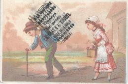 Nouveautés Vêtements Sur Mesure/ A La Confiance/ GRAS Et EUGENE/ SOMMIERES/Gard /vers 1875-1880     IM427 - Chromos