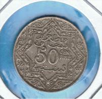 MARRUECOS - MOROCCO -  50 Centimes ND (1921) Y#35.1 - Marruecos