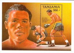 Tanzania MNH SS - Boxing