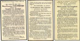 B.P. 3 STUKS LOKEREN 1938 - 1939 - 1940 - Religion & Esotérisme
