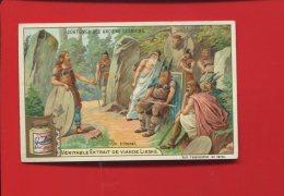 LIEBIG CHROMO  COUTUMES ANCIENS GERMAINS  JUSTICE TRIBUNAL  GAULOIS - Liebig