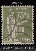 1932- 33  -  Europe - France  -  '  Type Paix '  - 75 C. Olive - - 1932-39 Paix
