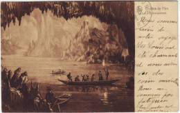 Belgique Grottes De Han Le Lac D'embarquement - Belgique