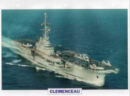 France 1957, CLEMENCEAU, édit.ATLAS, 24cmsx15.5cms, Au Dos Renseignements  Divers (b3) - Boten