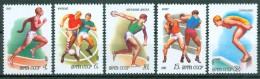 SOWJETUNION - Mi-Nr. 5081 - 5085 Sport Postfrisch - Briefmarken