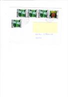 SVIZZERA 2004 - Unificato 1730-1733 - Lettera Per L´Italia - Svizzera