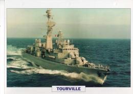 France 1972 TOURVILLE,  édit.ATLAS, 24cmsx15.5cms, Au Dos Renseignements  Divers (b5) - Boten