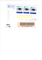 SVIZZERA 2004 - Lettera Raccomandata Per L´Italia - Storia Postale