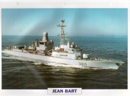 France 1991, JEAN BART,   édit.ATLAS, 24cmsx15.5cms, Au Dos Renseignements  Divers (b7) - Bateaux
