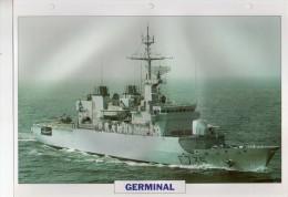 France 1993, GERMINAL,   édit.ATLAS, 24cmsx15.5cms, Au Dos Renseignements  Divers (b8) - Boten