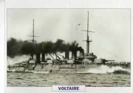 France 1911, VOLTAIRE,   édit.ATLAS, 24cmsx15.5cms, Au Dos Renseignements  Divers (b8) - Bateaux