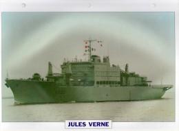 France 1970,  JULES VERNE, édit.ATLAS, 24cmsx15.5cms, Au Dos Renseignements  Divers (b8) - Boten