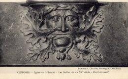 VENDOME - Eglise De La Trinité - Les Stalles, Fin Du XVe Siècle - Motif Décoratif - Edit: H. Chartier - Vendome