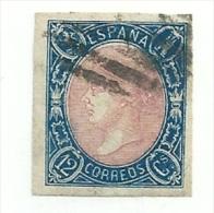 Spain 1865 Edifil 70 Used - 1850-68 Kingdom: Isabella II