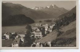 (CH323) ST. MORITZ . CAMPER GEGEN PIZ LA MARGNA - GR Grisons