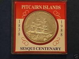 PITCAIRN 1 DOLLAR 1988 - Isole Pitcairn