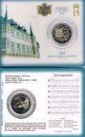 LUXEMBURG -  COINCARD 2 € COM. 2013 BU - ONS HEEMECHT - Luxembourg