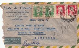 LETTRE  BRESIL 1961, LAVRADO BOLETIM DE VERIFICAÇÃO, BELEM LISBOA PORTUGAL /2405 - Lettres & Documents