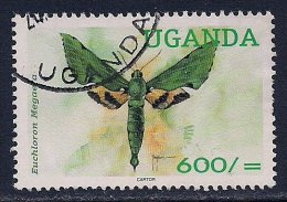 Uganda ~ 2000 ~ Moths ~ SG 2117 ~ Used - Uganda (1962-...)