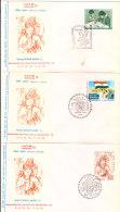 India Special Cover - Maharashtra Philatelic Exhibition 1973 - 3v Cover - India