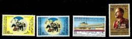 IRAQ IRAK 1969 Ahmed Hassan Al Baker Set SG 846-849 SC 506 - 509 MNH - Iraq