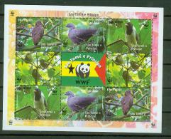S.Tome E Principe 2005,1 Block,WWF,birds,pajaros,v ögel,MNH/Postfris, (L1344) - Oiseaux