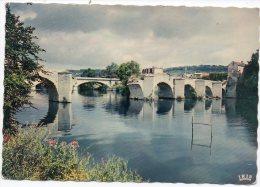 """CP, 78, MANTES LA JOLIE, Reliant L'Ile Aux Dames à Limay Sur Le Petit Bras De La Seine Le """"Vieux Pont""""...Ecrite - Mantes La Jolie"""