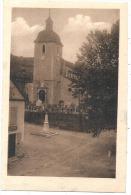 64 - REBENACQ - L'Eglise Et Le Monument Aux Morts  Neuve Excellent état - Andere Gemeenten