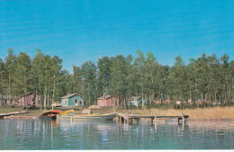 North Star Camp, Cabins, Boats, Waterhen Park, Toutes Aides, Manitoba, Canada, 40s-60s - Other