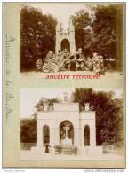 2 Photographies Albuminées 1898,-Ecole Saint Jean Versailles-reposoirs De La Fête Dieu-religion - Anciennes (Av. 1900)