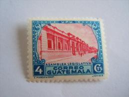 Guatemala 1935-36 Série Courante Parlement Yv 277 MNH ** - Guatemala