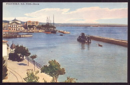 FIGUEIRA DA FOZ / BUARCOS / COIMBRA / PORTUGAL Postal Colorido Doca. Old Postcard - Coimbra