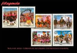 AMERICA. BOLIVIA MINT. 2002 CARNAVAL DE ORURO. PATRIMONIO DE LA HUMANIDAD - Bolivie